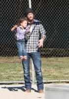 Nahla Ariela Aubry, Gabriel Aubry - Los Angeles - 28-12-2011 - Gabriel Aubry accusato di percosse e di aver messo in pericolo la figlia Nahla
