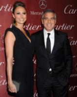 Stacy Keibler, George Clooney - Palm Springs - 07-01-2012 - George Clooney impegnato in una storia sull'arte trafugata dai nazisti