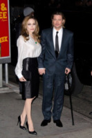 Angelina Jolie, Brad Pitt - New York - 09-01-2012 - Angelina Jolie e Brad Pitt incontrano il presidente Obama