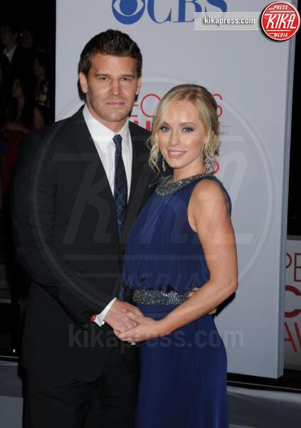 Jaime Bergman, David Boreanaz - Los Angeles - 11-01-2012 - People's Choice Awards 2012: gli arrivi sul red carpet