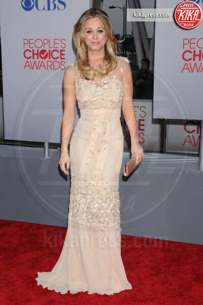 Kaley Cuoco - Los Angeles - 11-01-2012 - People's Choice Awards 2012: gli arrivi sul red carpet