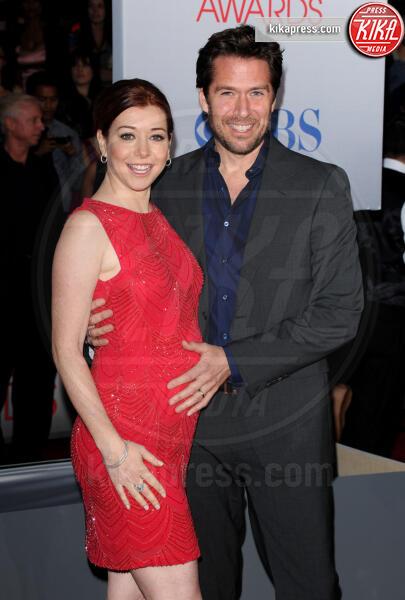 Alexis Denisof, Alyson Hannigan - Los Angeles - 11-01-2012 - People's Choice Awards 2012: gli arrivi sul red carpet