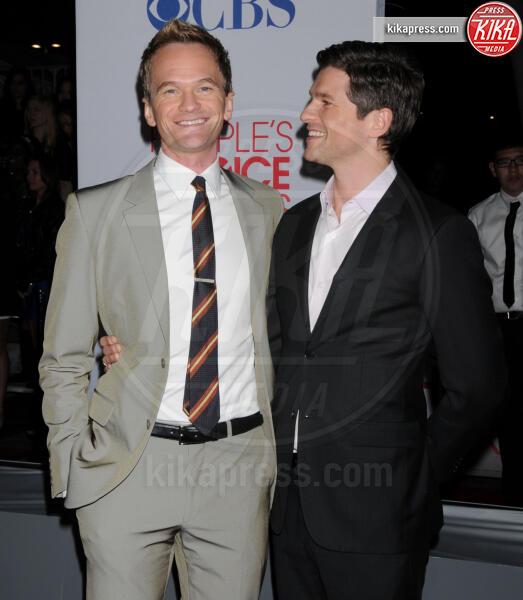 David Burtka, Neil Patrick Harris - Los Angeles - 11-01-2012 - People's Choice Awards 2012: gli arrivi sul red carpet