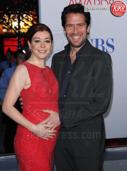 Alexis Denisof, Alyson Hannigan - Los Angeles - 12-01-2012 - People's Choice Awards 2012: gli arrivi sul red carpet