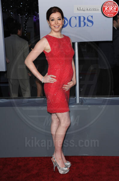 Alyson Hannigan - Los Angeles - 12-01-2012 - People's Choice Awards 2012: gli arrivi sul red carpet