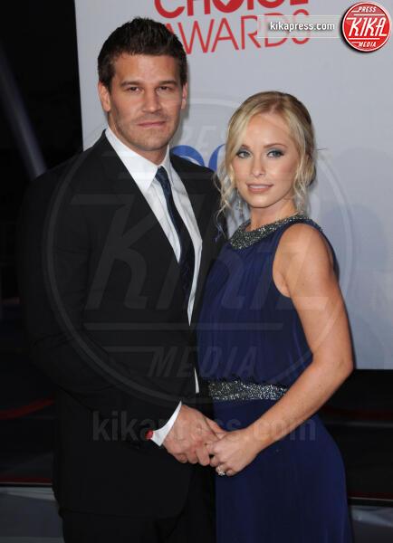 Jaime Bergman, David Boreanaz - Los Angeles - 12-01-2012 - People's Choice Awards 2012: gli arrivi sul red carpet