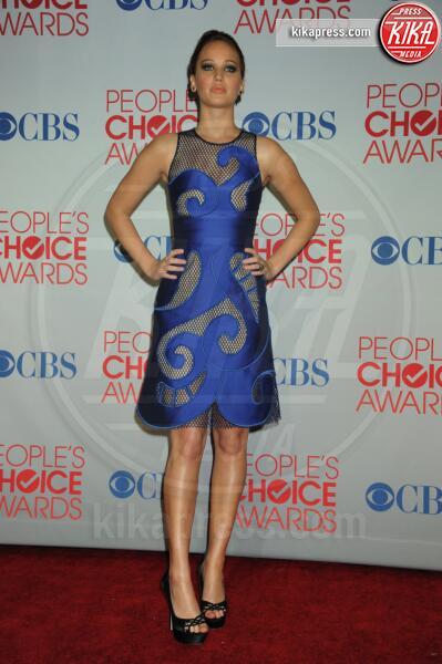 Jennifer Lawrence - Los Angeles - 11-01-2012 - People's Choice Awards 2012: gli arrivi sul red carpet