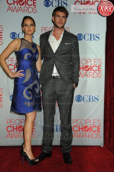 Liam Hemsworth, Jennifer Lawrence - Los Angeles - 11-01-2012 - People's Choice Awards 2012: gli arrivi sul red carpet