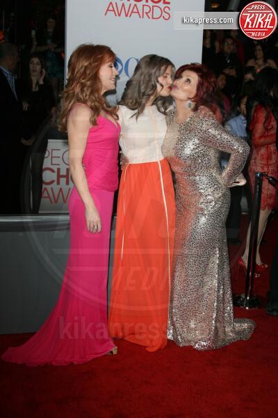 Kathy Griffin, Sharon Osbourne, Kelly Osbourne - Los Angeles - 11-01-2012 - People's Choice Awards 2012: gli arrivi sul red carpet