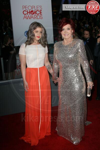Sharon Osbourne, Kelly Osbourne - Los Angeles - 11-01-2012 - People's Choice Awards 2012: gli arrivi sul red carpet
