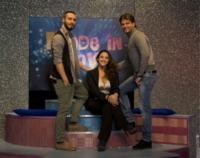 Luigi Butti, Ciro Oppressore, Lina Carcuro - Napoli - 12-01-2012 - Lina Carcuro dà il via a Made in Love, versione gay dello show Uomini e Donne