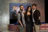 Luigi Butti, Ciro Oppressore, Maria Mazza - Napoli - 12-01-2012 - Lina Carcuro dà il via a Made in Love, versione gay dello show Uomini e Donne