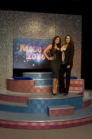 Maria Mazza, Lina Carcuro - Napoli - 12-01-2012 - Lina Carcuro dà il via a Made in Love, versione gay dello show Uomini e Donne