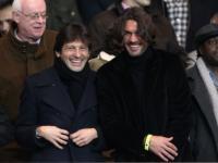 Leonardo, Paolo Maldini - Parigi - 16-01-2012 - Leonardo: ricovero lampo per un malore