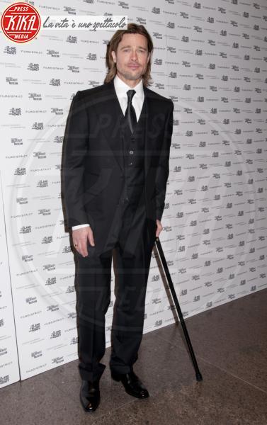Brad Pitt - New York - 10-01-2012 - A far le celebrities ci si rimette la salute