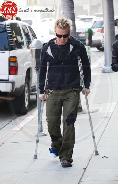 Billy Idol - Beverly Hills - 16-11-2011 - A far le celebrities ci si rimette la salute