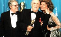 Marcello Mastroianni, Federico Fellini, Sophia Loren - Los Angeles - 19-01-2012 - Da Fellini a Morricone, quando il cinema italiano è da Oscar