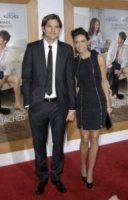 Demi Moore, Ashton Kutcher - Hollywood - 29-09-2011 - Demi Moore ?imbarazzata? dalla situazione