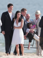 Josh Hopkins, Courteney Cox - Los Angeles - 01-02-2012 - Matrimonio in vista a Cougar Town, la proposta andata in onda a San Valentino