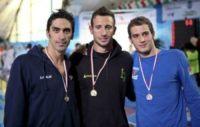 Alex Di Giorgio, Gianluca Maglia, Filippo Magnini - Milano - 03-02-2012 - Marco Carta, l'outing shock arriva in tribunale