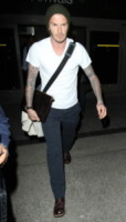 David Beckham - Hollywood - 05-02-2012 - David Beckham espulso da una partita tra bambini