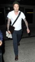 David Beckham - Hollywood - 05-02-2012 - David Beckham espulso da una partita tra bambini