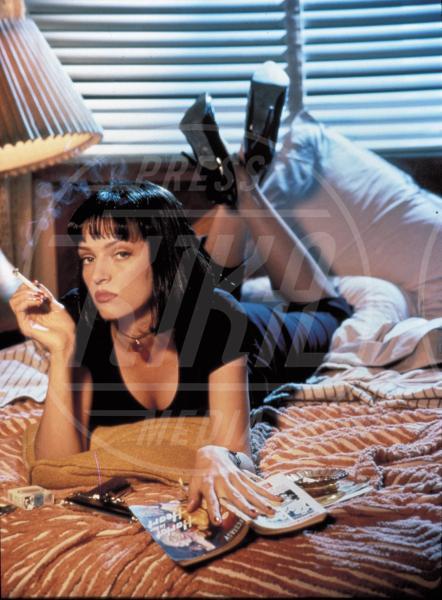 Uma Thurman - Hollywood - 01-01-1994 - Uma Thurman irriconoscibile a causa del bisturi