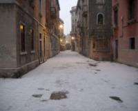 Venezia - Venezia - 12-02-2012 - Gondole imbiancate a Venezia