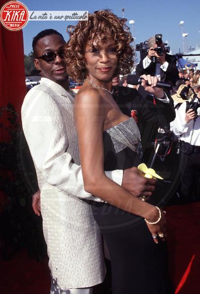 Whitney Houston, Bobby Brown - Los Angeles - 12-02-2012 - Bobby Brown cancella un concerto per stare con la figlia Bobbi Kristina