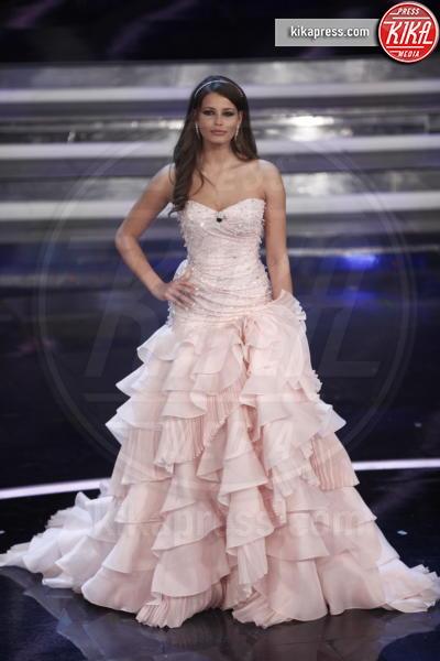 Ivana Mrazova - Sanremo - 17-02-2012 - Le vallette degli ultimi anni al Festival di Sanremo