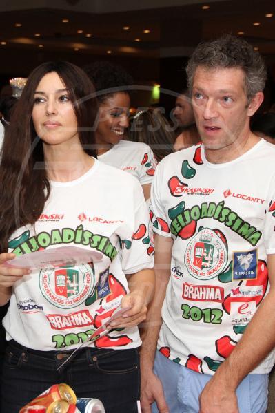 Monica Bellucci, Vincent Cassel - Rio de Janeiro - 19-02-2012 - 2013: l'annus horribilis delle coppie vip