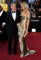Stacy Keibler, George Clooney - Hollywood - 26-02-2012 - George Clooney è stato l'autista di Tony Bennett