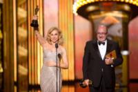 Francesca Lo Schiavo, Dante Ferretti - Hollywood - 26-02-2012 - Da Fellini a Morricone, quando il cinema italiano è da Oscar
