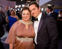 Ben Falcone, Melissa McCarthy - Hollywood - 27-02-2012 - 84th Oscar: dopo la cerimonia, le star festeggiano al Governor's Ball