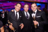 Dan Lindsay, TJ Martin - Hollywood - 26-02-2012 - 84th Oscar: dopo la cerimonia, le star festeggiano al Governor's Ball