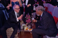Morgan Freeman - Hollywood - 26-02-2012 - 84th Oscar: dopo la cerimonia, le star festeggiano al Governor's Ball