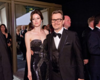 Alexandra Edenborough, Gary Oldman - Hollywood - 26-02-2012 - 84th Oscar: dopo la cerimonia, le star festeggiano al Governor's Ball