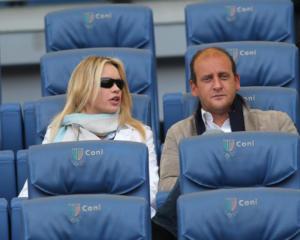 Andrea Ruggeri, Anna Falchi - Roma - 05-03-2012 - Euro 2016: