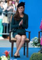 """Kate Middleton - Londra - 08-03-2012 - Kate Middleton, a Leicester con la regina, sente """"terribilmente"""" la mancanza di William"""