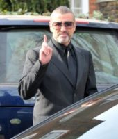 George Michael - Londra - 14-03-2012 - Incidente stradale per George Michael