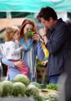 Satyana Denisof, Alexis Denisof, Alyson Hannigan - Los Angeles - 06-04-2011 - Dalla fattoria a casa tua, spesa bio da star