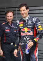 Christian Horner, Mark Webber - Sepang - 23-03-2012 - Gran Premio F1 a Sepang