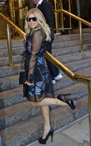 Fergie - New York - 23-03-2012 - Diletta e le altre: trench trasparente, chi lo indossa meglio?