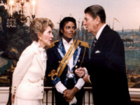 Michael Jackson, Ronald Reagan, Nancy Reagan - Washington - 27-03-2012 - Il lato oscuro delle stelle dello showbiz