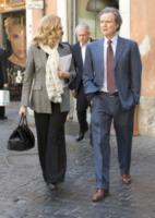 Angelo Donati, Milly Carlucci - Roma - 27-03-2012 - Star come noi: le normali abitudini di Milly Carlucci