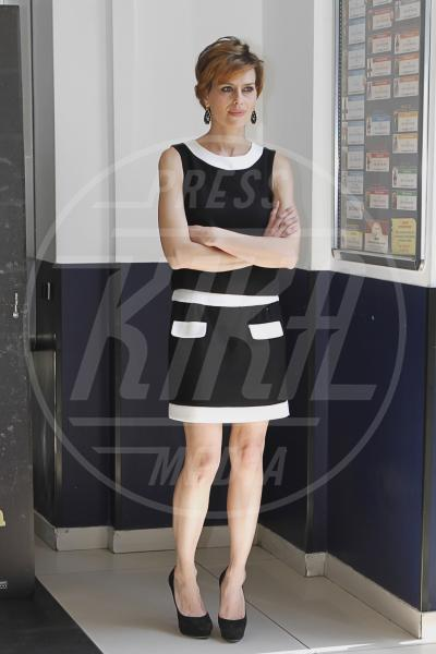 Claudia Pandolfi - Roma - 29-03-2012 - Sul red carpet, l'optical è… l'optimum!