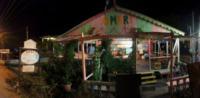 Caribbean Outdoor Restaurant at Night 2 - Belize - 28-03-2012 - Belize