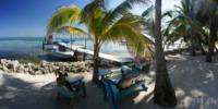 Dock, Palm Tree Beach - Belize - 26-03-2012 - Belize