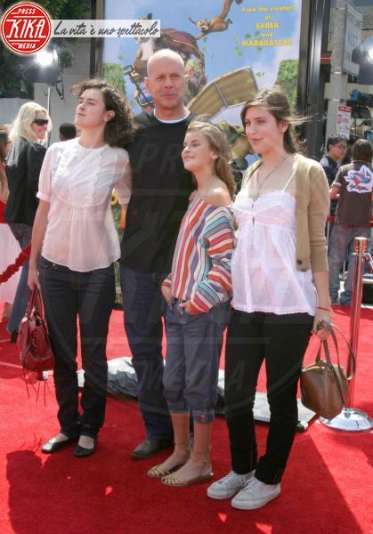 Tallulah Belle Willis, Rumer Willis, Scout Willis, Bruce Willis - Hollywood - 02-04-2012 - Chiamiamolo strano: i buffi nomi dei pargoli vip