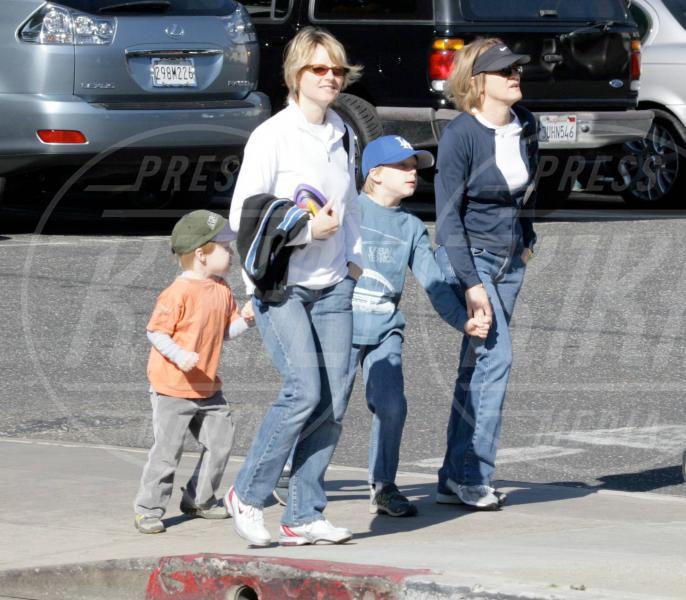 Cydney Bernard, figlie, Kit, Jodie Foster - Santa Monica - 22-01-2006 - Cara, Michelle e le altre: quando lei & lei sono in coppia